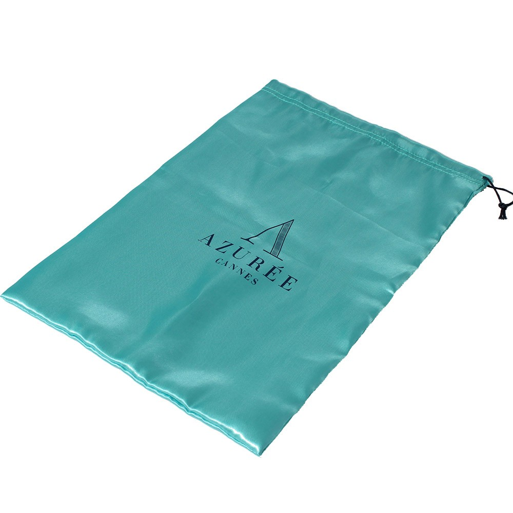 Custom Drawstring Satin Gift Bag Pouch