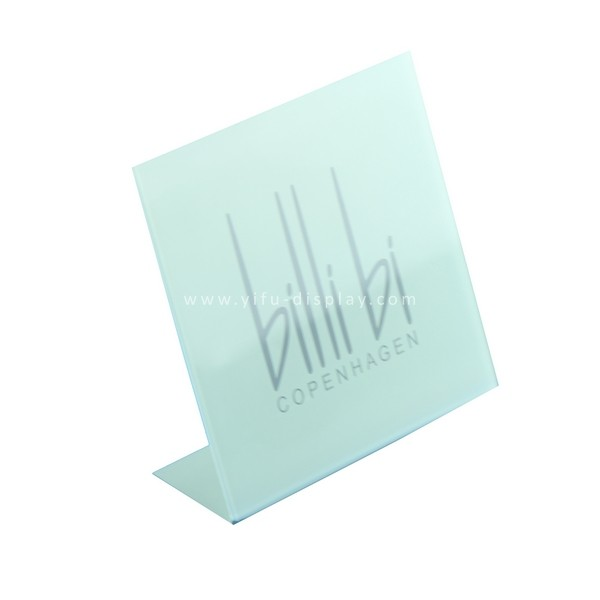 Acrylic Nameplate L066