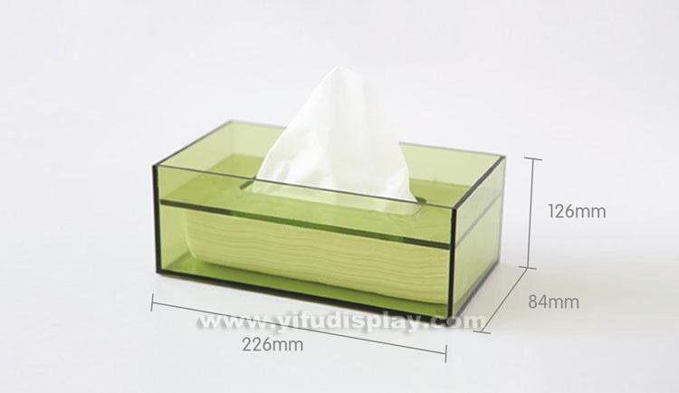 Acrylic Tissue Box BX013