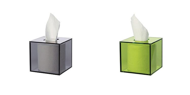 Acrylic Tissue Box BX014
