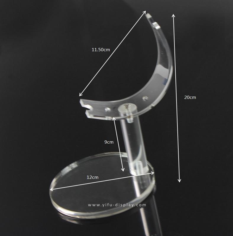 Acrylic Crescent Shoe Display SP033