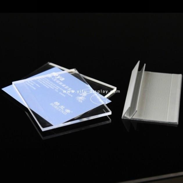 Acrylic   Sign Holder  Desk  Label  SH017