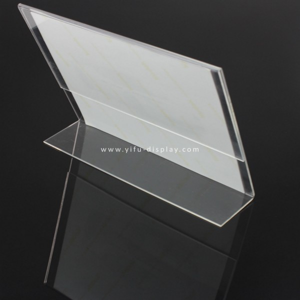 Acrylic Sign Holder SH002