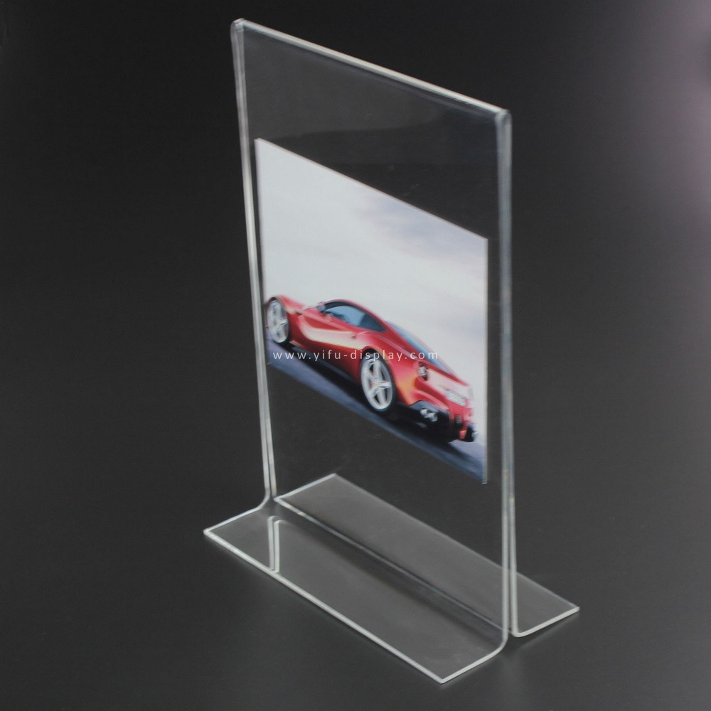 Acrylic Sign Holder Sh012 Manufacturers Acrylic Sign