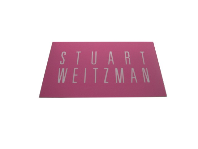 Slat Wall Sign SLS002