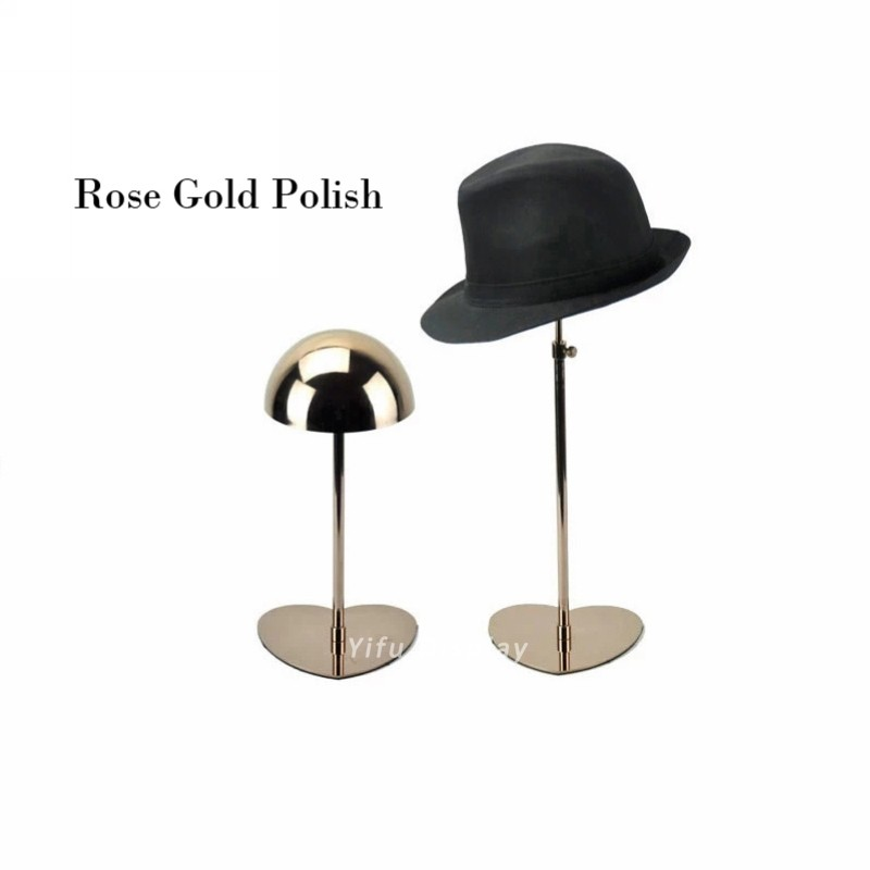 Elegant Hat Holder HH002-Rose gold polish