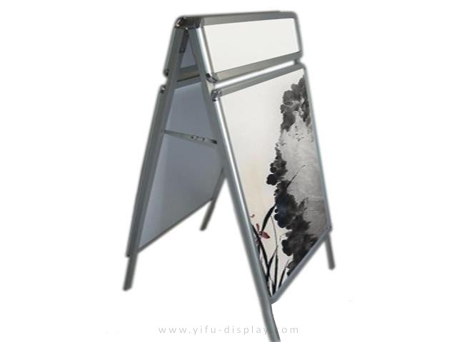 Double Side Poster Stand PS010