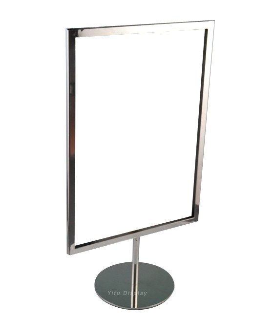 Polished Poster Stand PS013