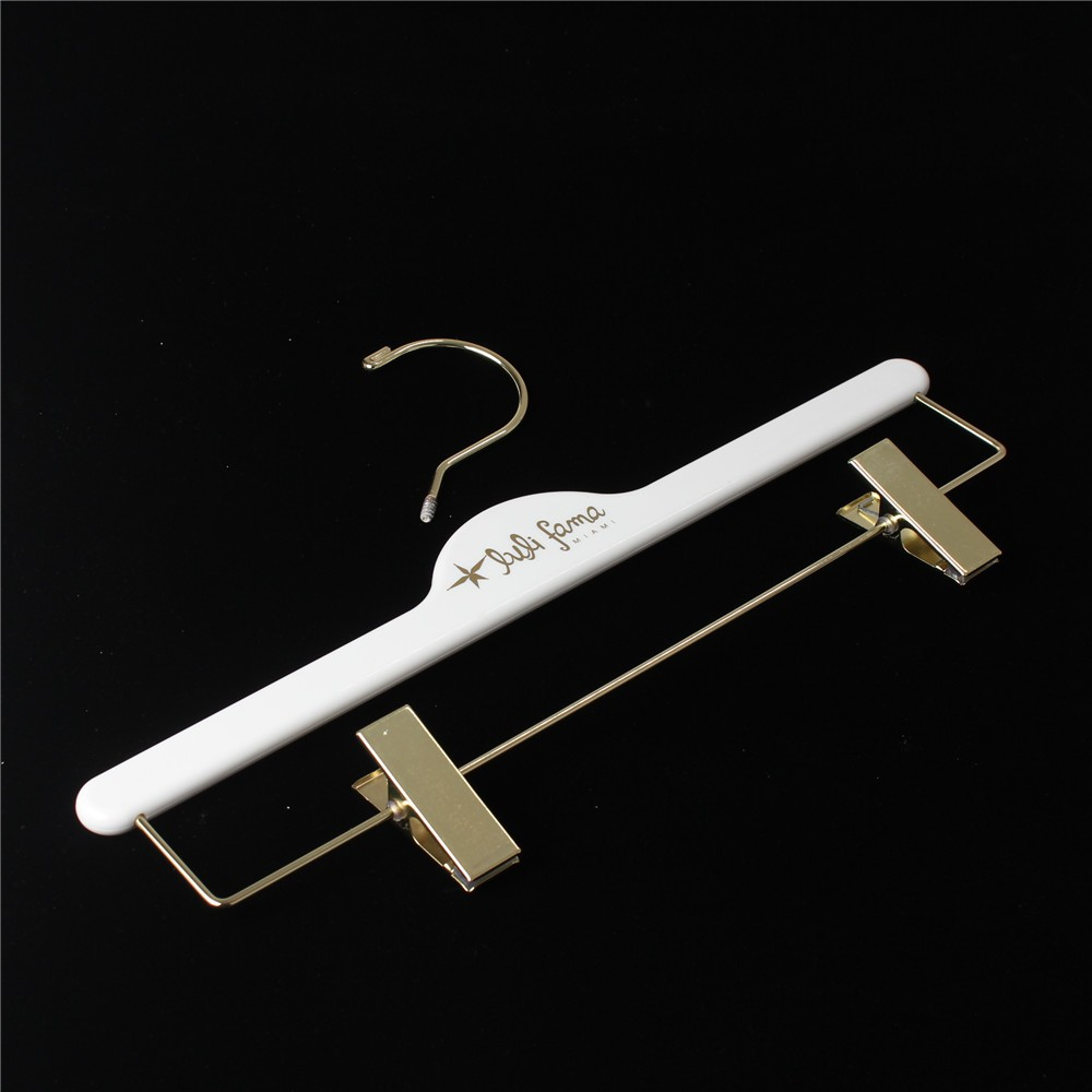 Custom Gold Plastic Coat Hanger