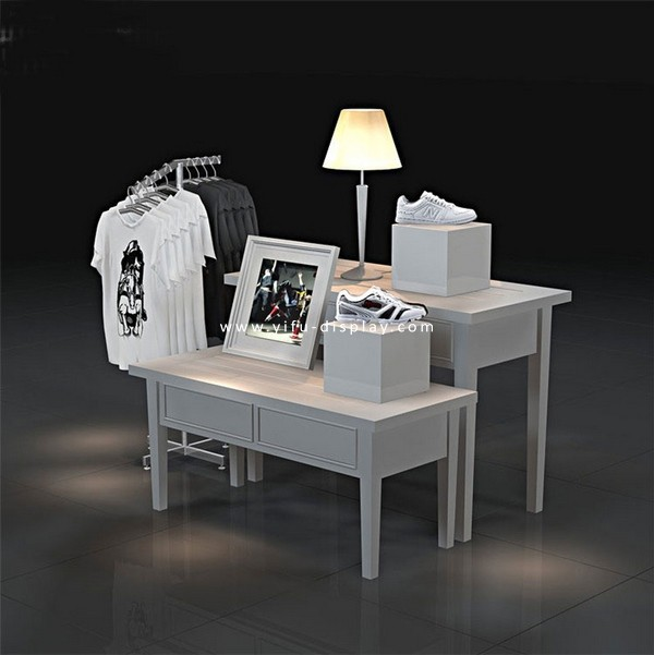 Floor Clothing Display Rack WS009