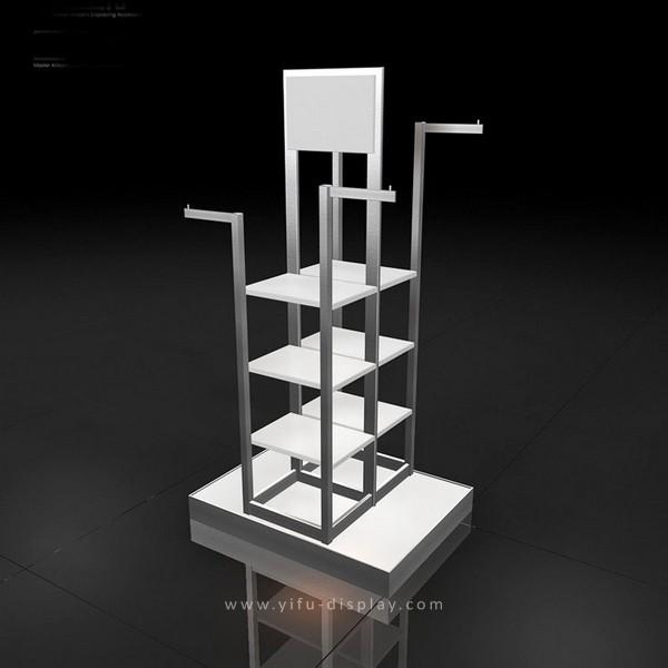 Floor Clothing Display Rack WS013